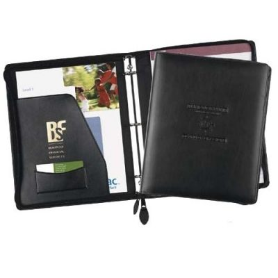 Exec-U-line Zippered Ring Binder (Imported)