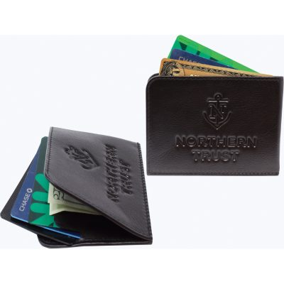 Top Grain Cowhide RFID Strong-Fold Wallet (Import)