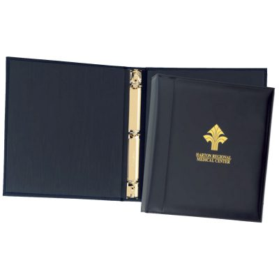 "Top Grain Leather 1"" Ring Binder (Domestic)"