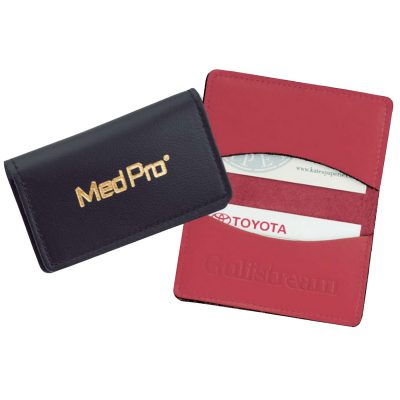 Top Grain Leather Business Card Case (Domestic)