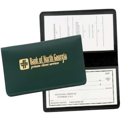 Top Grain Leather Checkbook Cover (Domestic)