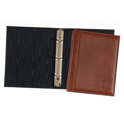 Top Grain Leather Junior Ring Binder (Domestic)