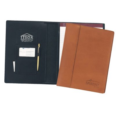 Top Grain Leather Saddle Folio (Domestic)